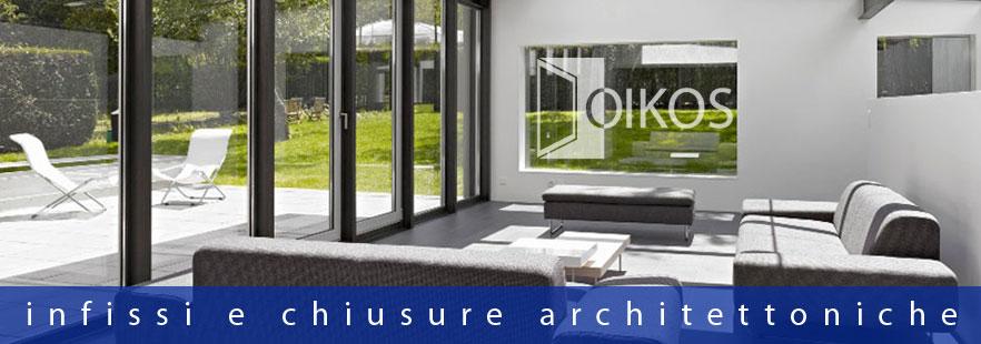 Infissi per l'architettura di interno design moderno ed economico - OIKOS